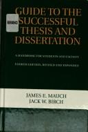 Download Guide to the successful thesis and dissertation