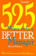Download 525 ways to be a better manager